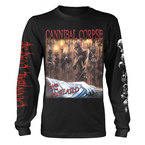 Cannibal Corpse Longsleeve Trikot TOMB OF THE MUTILATED