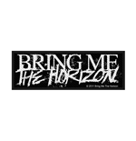 Bring Me The Horizon Aufnäher HORROR LOGO