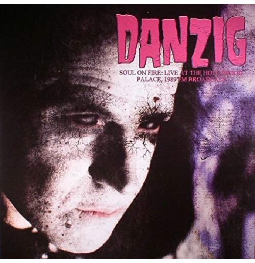 Vinyl Danzig - Soul On Fire: Live At The Hollywood Palace (2 Lp)
