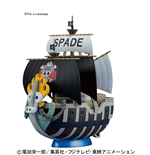 One Piece Grand Ship Coll Spade Pirates MODELL-KIT