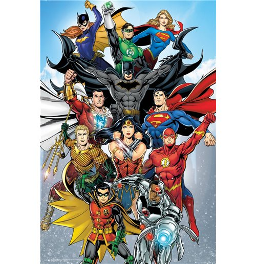 Poster Superhelden DC Comics 378230