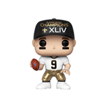 NFL POP! Sports Vinyl Figur Drew Brees (SB Champions XLIV) 9 cm