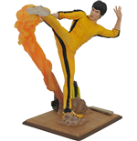 Bruce Lee Gallery Kicking Fig Statue