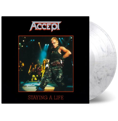 Vinyl Accept - Staying A Life (2 Lp) (Coloured)