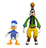 Kingdom Hearts 3 Select Actionfiguren Doppelpack Goofy & Donald 10 - 18 cm