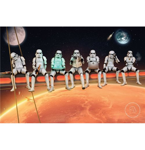 Poster Star Wars : Stormtrooper - On Girders (Poster Maxi 61x91,5 Cm)