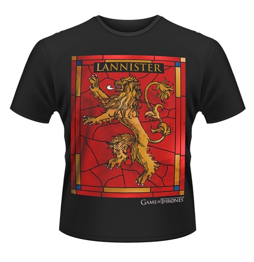 Game Of Thrones T-Shirt HOUSE LANNISTER