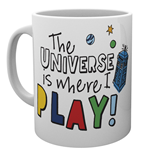 Tasse Doctor Who: Where I Play Mug