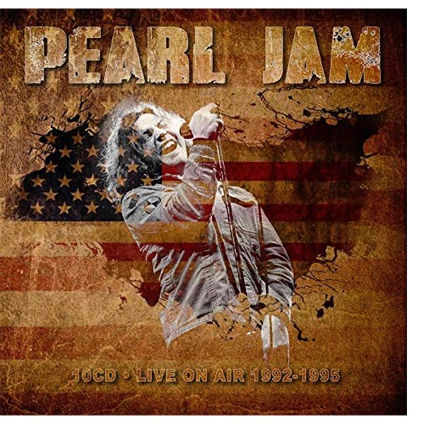 Vinyl Pearl Jam - Live In San Diego 1995 (3 Lp) (Limited Halloween Orange Coloured And Numbered)