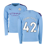Manchester City FC langärmeliges T-Shirt 2019/20 Home
