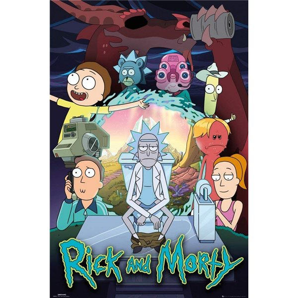 Poster Rick and Morty 394820