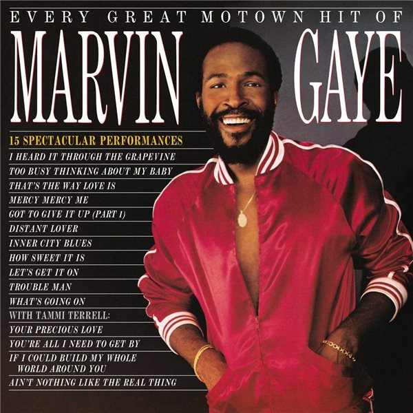 Vinyl Marvin Gaye - Every Great Motown Hit Of Marvin Ga