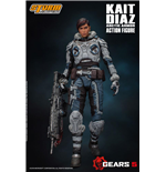 Gears of War 5 Actionfigur 1/12 Kait Diaz Arctic Armor 18 cm