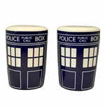 Doctor Who Wohnungszubehör TARDIS SALT AND PEPPER SHAKERS SET