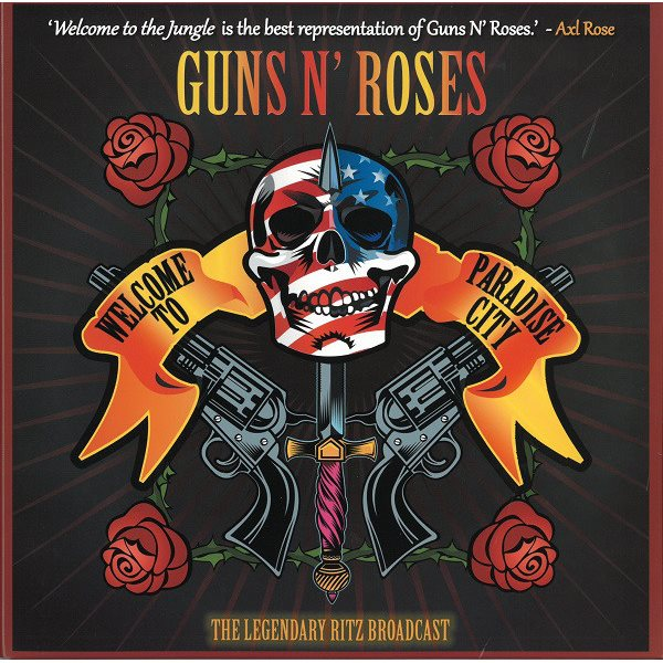 "Vinyl Guns N' Roses - Welcome To Paradise City: Hand-Numbered 10-Inch Double Album on Splatter Vinyl in Gatefold Sleeve (2 x 10"")"