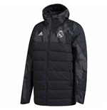 Real Madrid Jacke 2020/21 (Dunkelgrau)