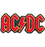 AC/DC Aufnäher - Design: Cut Out 3D Logo