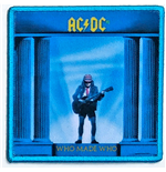 AC/DC Aufnäher - Design: Who Made Who