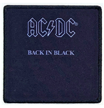 AC/DC Aufnäher - Design: Back In Black