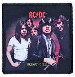 AC/DC Aufnäher - Design: Highway to Hell