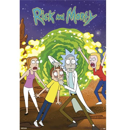 Poster Rick and Morty 413753