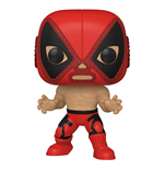 Marvel Luchadores POP! Vinyl Figur Deadpool 9 cm