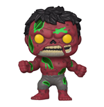 Marvel POP! Vinyl Figur Zombie Red Hulk 9 cm