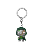 Marvel Zombies Pocket POP! Vinyl Schlüsselanhänger 4 cm Dr. Doom Display (12)