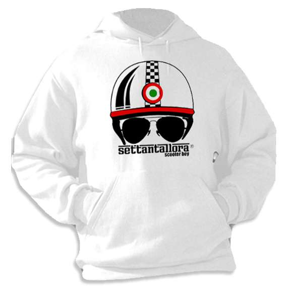 Sweatshirt Helm Scooter Boy Settantallora