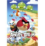 Poster Angry Birds Attack