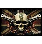 Poster Bullet For My Valentine-Skull & Guns