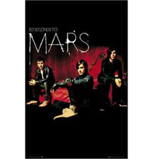 Poster 30 Seconds to Mars-Band