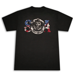 T-Shirt SONS OF ANARCHY SOA American Flag Reaper