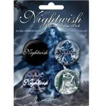 Set Broschen Nightwish-Once