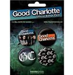 Set Anstecker Good Charlotte