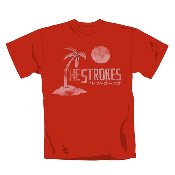 T-Shirt Japan The Strokes. Offizielles Emi Music Produkt