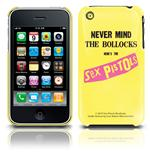 Cover iPhone 3G/3GS - Never Mind Sex Pistols. Offizielles Emi Music Produkt