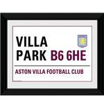 Bild Aston Villa Street Sign