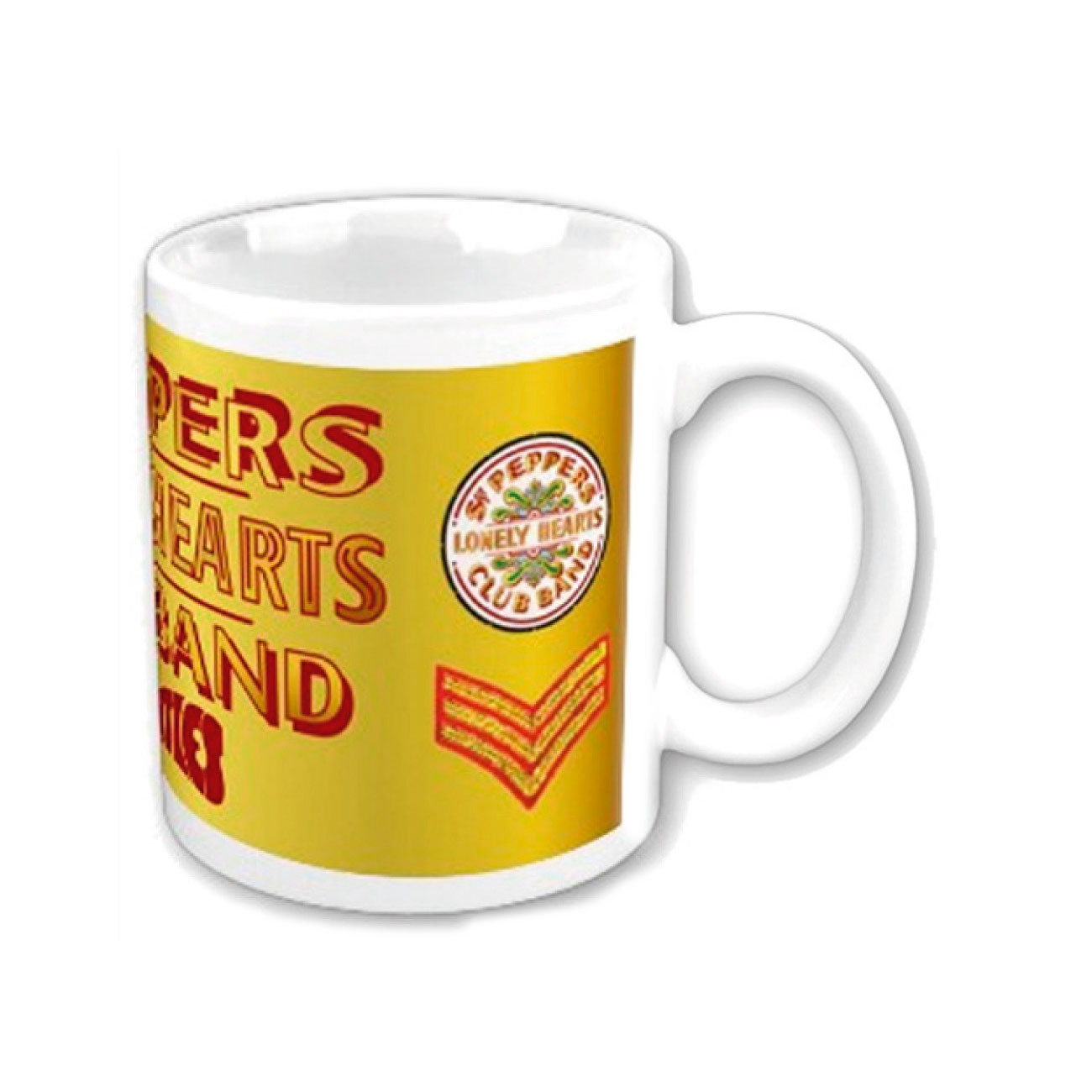 Tasse The Beatles Sgt Pepper. Offizielles Emi Music Produkt