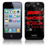 Cover Skin iPhone 4G Jay Z - Red Logo. Offizielles Emi Music Produkt