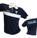 Polo Shirt Italien Volleyball Fun
