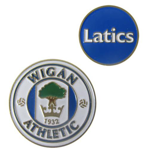 Golfbälle Marker Wigan Athletic