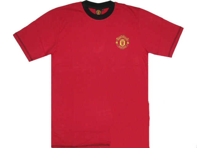 T-Shirt Manchester United für Kinder, in rot