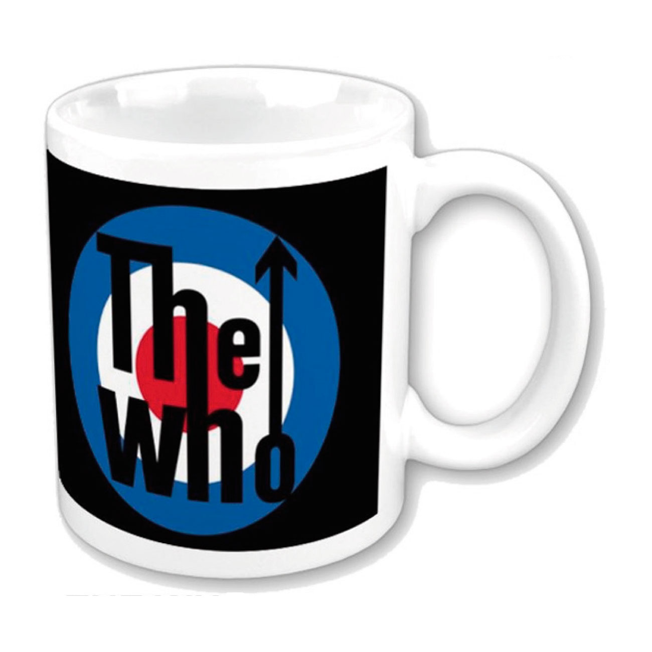 Tasse The Who - Target Logo. Offizielles Emi Music Produkt