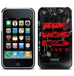 Cover iPhone 3G/3GS Jay Z - Red Logo. Offizielles Emi Music Produkt