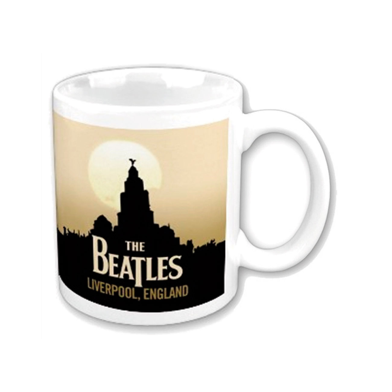 "Tasse The Beatles ""LIVERPOOL"".Offizielles Emi Music Produkt"