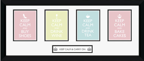Poster Keep Calm and Carry On 62782