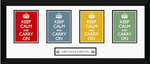 Poster Keep Calm and Carry On 62792