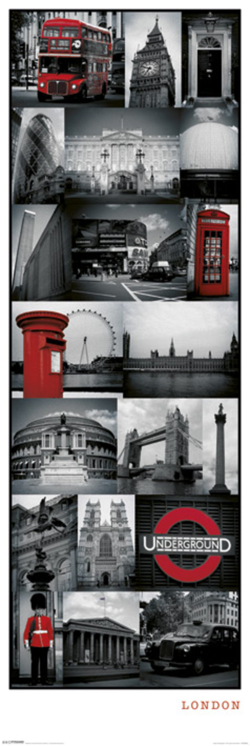 Poster London 64161