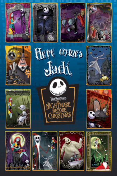 Poster Nightmare before Christmas
